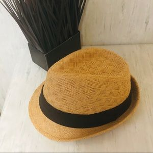 Guess Fedora Hat with Black Band